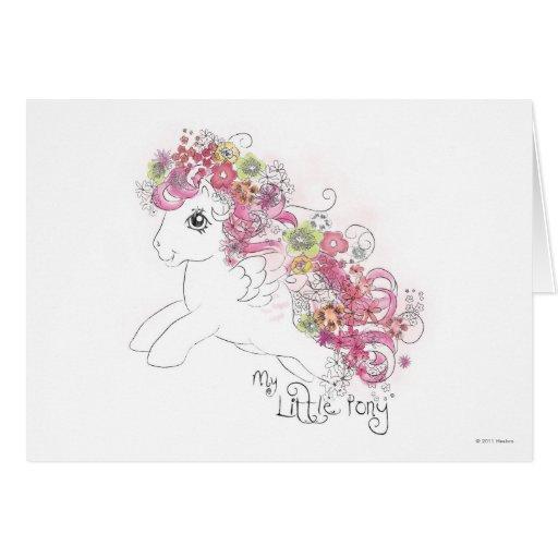 Diseño floral de la acuarela tarjetas