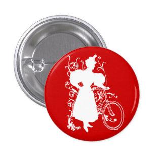 Diseño floral de la bicicleta de la mujer del Vict Pin