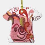 Diseño floral de los remolinos ornatos