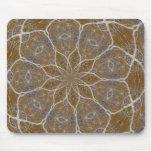 Diseño floral de Lotus Tapete De Raton