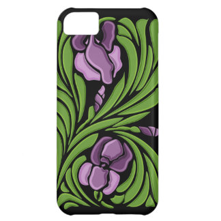 Diseño floral de Nouveau del arte Funda iPhone 5C