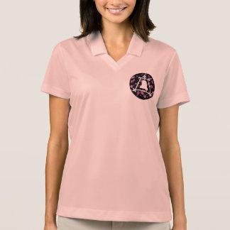 Diseño floral de Raincross Fleur Polo Tshirts