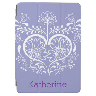 Diseño floral de Swirly Cover De iPad Air