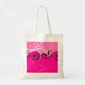 Diseño floral de Switly Bolsa Tela Barata