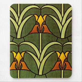 Diseño floral de William Morris - Mousepad