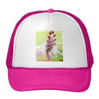 Diseño floral del gorra del camionero