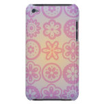 Diseño floral del Hippie iPod Touch Case-Mate Cárcasas