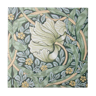 Diseño floral del Pimpernel de William Morris Teja