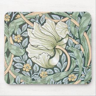 Diseño floral del Pimpernel de William Morris Alfombrilla De Ratones