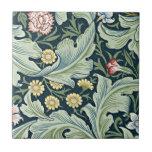 Diseño floral del vintage de William Morris - de L Tejas Ceramicas