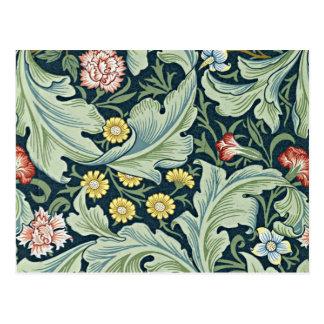 Diseño floral del vintage de William Morris - de Postales