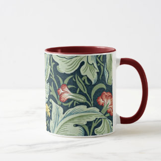 Diseño floral del vintage de William Morris - de Taza