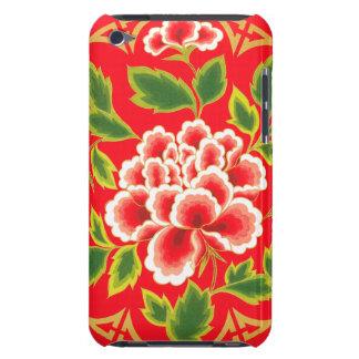 Diseño floral del vintage iPod Case-Mate carcasas