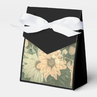 Diseño floral del vintage hermoso caja para regalo de boda