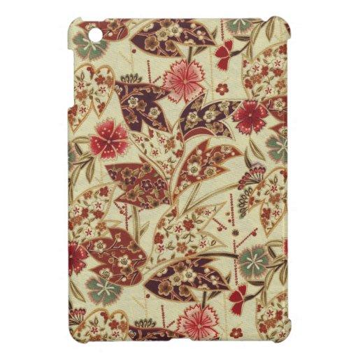 Diseño floral del vintage iPad mini protectores