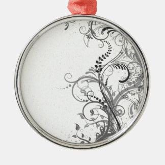 Diseño floral del vintage ornamente de reyes