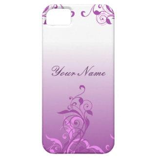 Diseño floral elegante iPhone 5 Case-Mate cárcasas