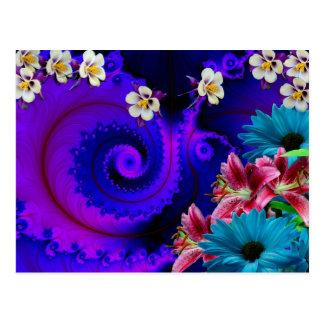 Diseño floral: Especial Postales