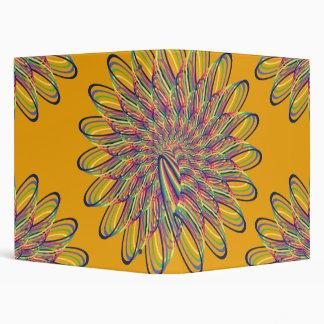 Diseño floral espiral del arco iris - fondo anaran