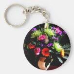 diseño floral, fotografía original llaveros personalizados