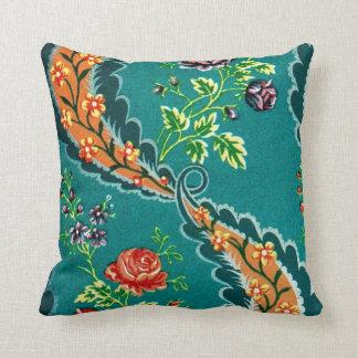 Diseño floral francés colorido decorativo del vint almohadas