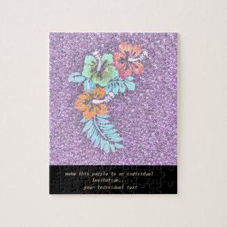 Diseño floral GINA, rosada Puzzle