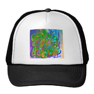 Diseño floral gorras