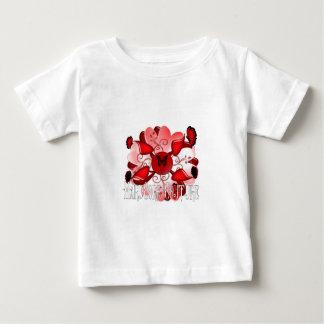 Diseño floral incondicional 1 camisas