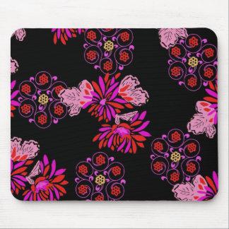 diseño floral japonés tapete de raton