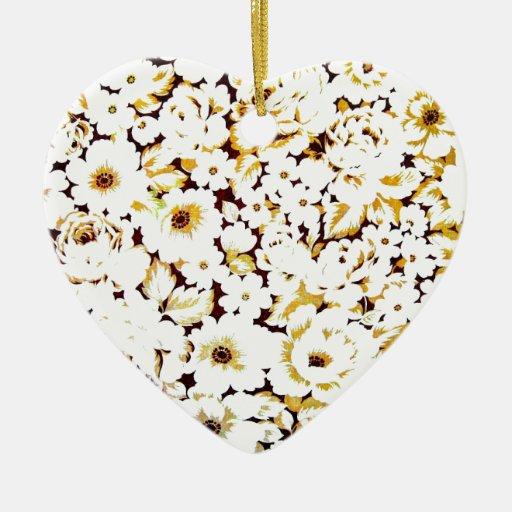 Diseño floral moderno elegante del arte adorno