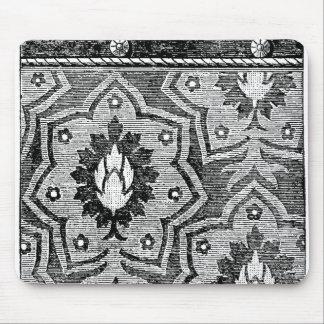 Diseño floral persa tapete de ratón