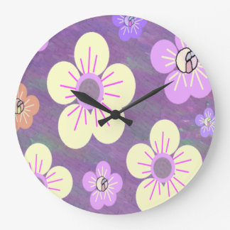 Diseño floral relojes