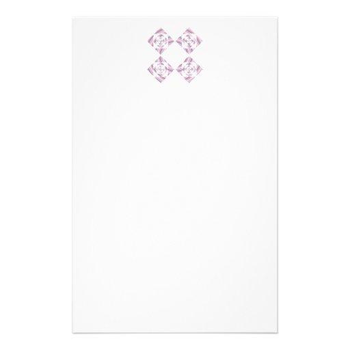 Diseño floral, rosa y otros colores en colores pas flyer personalizado