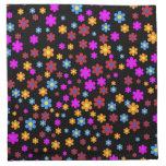 Diseño floral servilletas