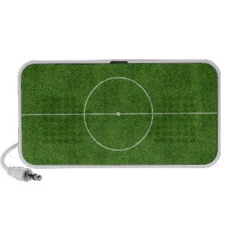 diseño footy de la hierba del fútbol del campo de portátil altavoz