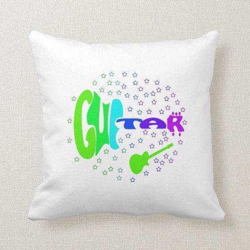 diseño formado txt 4 de la música de las estrellas almohada