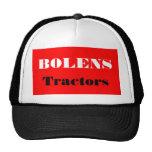 Diseño fornido de los cortacéspedes de los cortacé gorras de camionero