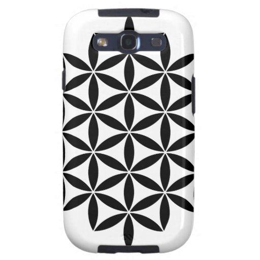 Diseño fractal samsung galaxy s3 protector