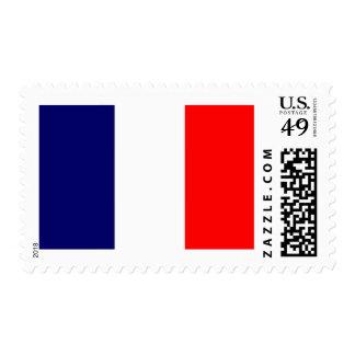 ¡Diseño francés de la bandera - OUI! Estampilla