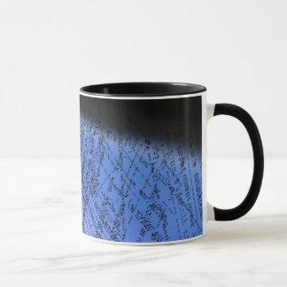 Diseño francés del texto taza