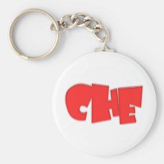¡Diseño fresco de Che! Llavero Redondo Tipo Pin