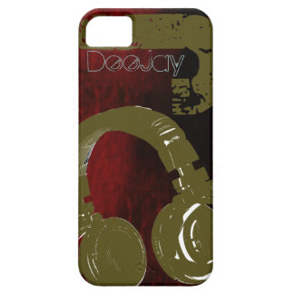 Diseño fresco de Dee Jay iPhone 5 Carcasa