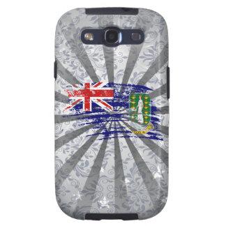 Diseño fresco de la bandera de británico samsung galaxy s3 carcasa
