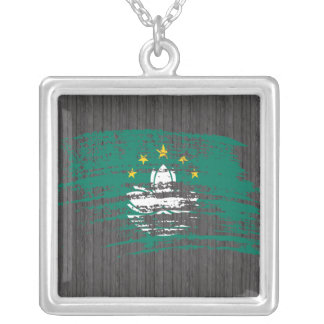 Diseño fresco de la bandera de Macanese Joyeria Personalizada