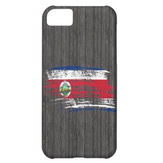 Diseño fresco de la bandera de Rican de la costa