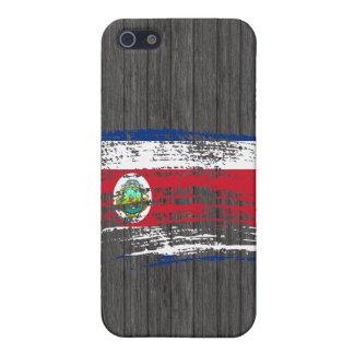 Diseño fresco de la bandera de Rican de la costa iPhone 5 Funda