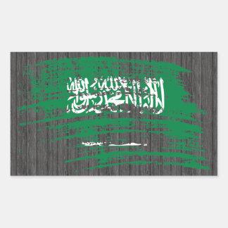 Diseño fresco de la bandera del saudí rectangular altavoces