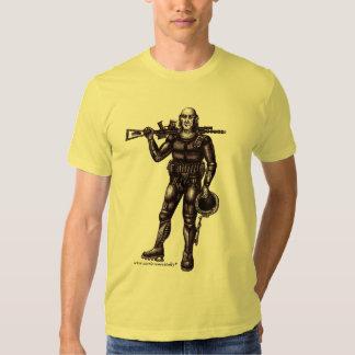 Diseño fresco de la camiseta de la ciencia ficción camisas