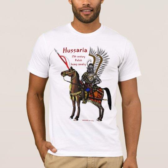 Diseño fresco de la camiseta del húsar polaco