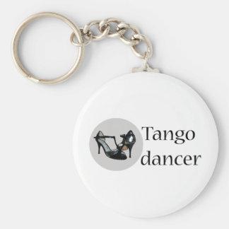 ¡Diseño fresco de la danza del tango! Llavero Redondo Tipo Pin